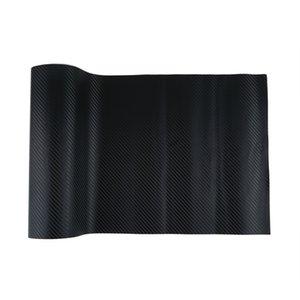 127X30cm 3D Black Carbon Fiber Vinyl Film Carbon Fibre Car Wrap Sheet Roll Film tools Sticker Decal car styling Free