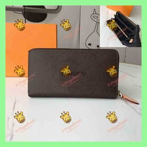 Wallet single pull womens wallets 2021 casual fashion INS style simple atmosphere multi-color