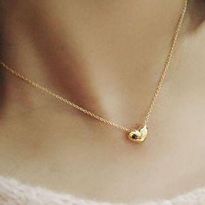 Ketten Ewige Liebe Halskette 2021 Mode Nette Gold Farbe Elegant Für Frauen Valentinstag Denkmal Schmuck Geschenke