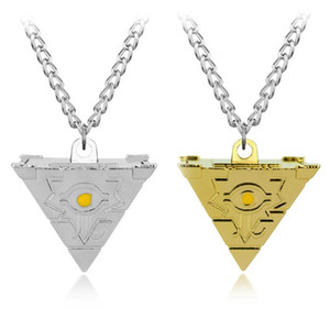 Fashion Yu-gi-oh! toy Puzzle Chain Necklaces Pendants Golden and Bright Men & Women Jewelry