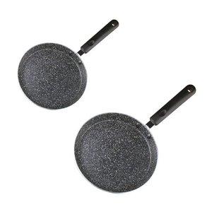 Thickening Stone Non-Stick Frying Pan Multi-Purpose Pancake Steak Cooking Tool R9UD