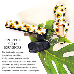 3 Pieces Travel Keychain Holders Kits Including 30ml Hand Sanitizer Holder Keychain Wristlet Keychains Lanyard Chapstick Holder