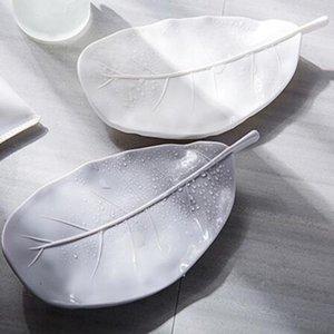 Tragbare Kreative Blattform Seife Geschirrdose Drain Rack Seifenlagerhalter Behälterregal Bad Duschplatte Tablett