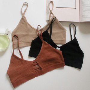 Sexy Summer Sport Bras For Invisible Women Push Up Lingerie Padded Bralette Wrap Top Bustier Female Underwear