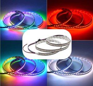DC5V SK9822 LED LED Pixel Tape 48/72/96 144 LEDs APA102 RGB ABRIGIMIENTO FLEXIBLE PIXEL LED LED luces