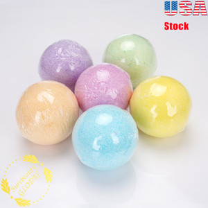 Art Naturals Essential Oil Bath Salts Bombs Moisturize Relaxing Assorted Scents 6Pcs Multi Color Ball In US