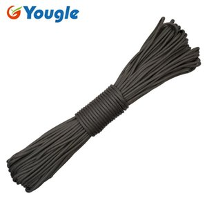 Outdoor Gadgets 100 Feet 31 Meters 4mm 11 Strands 550 Parachute Cord Paracord Flame Retardant Cable Tent Guyline Wind Rope Clothesline