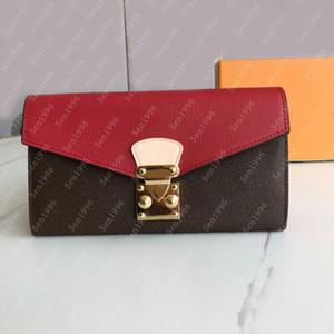 Mode Femme de haute qualité Femme Portefeuille Porte-monnaie Portefeuille Porte-cartes Sacs Sacs Coin Porte-clés Coque The Bein avec la boîte # 58414