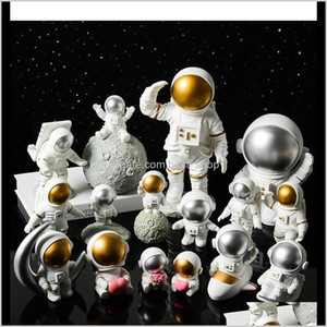 Creative Resin Space Astronaut Decorations Desk Soft Decoration Studio Bookcase Modern Home Furnishings Home Gifts Crafts Collection E Wt2Jd