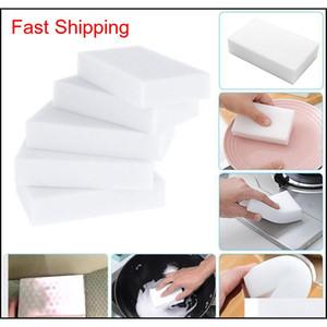 White Melamine Sponge Magic Sponge Eraser Melamine Cleaner For Kitchen Office Bathroom Cleaning Nano Sponges Free jllodJ dh_garden