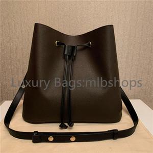 2021 Nuevos mejores lujos Diseñadores Moda Bucket Handbags Lady Crossbody Bag Flor Monederos Mujeres Bolsas de asas Letra Bolsa de hombro de cuero genuino
