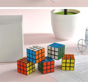 Brain game D-FantiX Cyclone Boys Mini Finger 3x3 Speed Cube Stickerless Finger Magic Cube 3x3x3 Puzzles Toys wholesale
