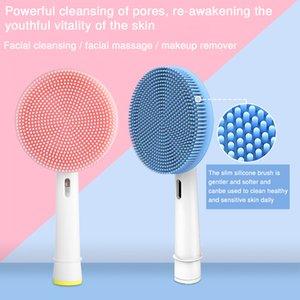 Очищающая щетка для лица, подходящая для головы зубной щетки Oral-B, электрическая зубная щетка, ручка для лица и щеткой для лица