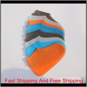 Scarpe riutilizzabili copre protezioni per scarpe sile impermeabili per l'interni Outd Qylcxk PPShop01