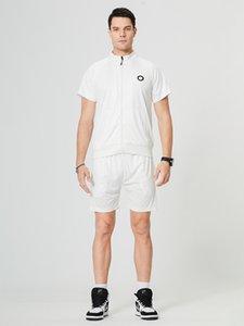 2021 Tracksuits Fashion Design Shirts +Pants 2 Piece Sets Solid Color Suit High Quality mens sweat suits activewear joggers Eur Size S 2XL
