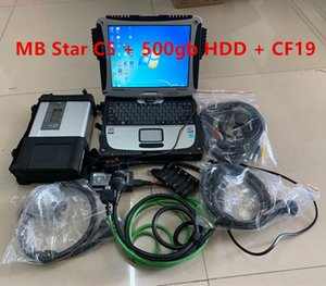V2021.09 MB SD C5 Connect Compact 5 Star Diagnosis with hdd and CF19 4GB Laptop Software Installed Ready to Use