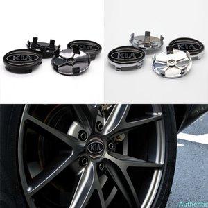 Car parts 4pcs 68mm wheel hub cover center wheel sticker car logo, suitable for KIA- personalized modification parts