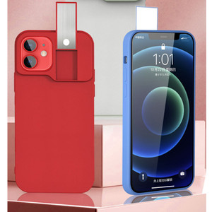 Selfie Light Tragbare Handykoffer für iPhone 12 Pro Flash LED Selfie Ring Fill Light Back Cover für iPhone 12 Pro New Case