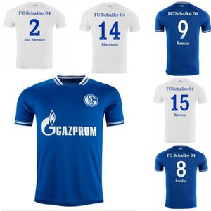 2021 2022schalke camisas de futebol Kutucu 20 21 Serdar FC Schalke 04 Raman Ozan Harit Home Away Adulto Camisa de Futebol