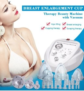 2021 Buttocks Lifter Cup Vacuum Breast Enlargement Therapy Cupping Machine Bigger Butt Hip Enhancer Slimming Beauty Equipment Machine