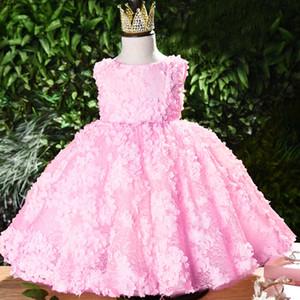 Lovely baby princess birthday party dinner party evening dress Girl Babys Wedding party Bridesmaid Eucharist Ballroom Dress