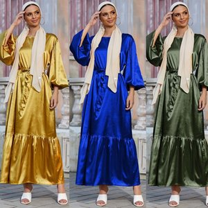 Ethnic Clothing Dubai Abaya Turkey Islam Muslim Fashion Women Ramadan Eid Mubarak Kafta Hijab Dress Caftan Marocain Dresses Vestidos Robe Fe