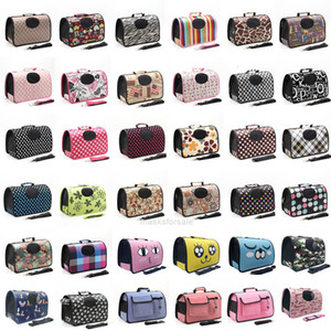 Cats Sided for Pet Dogs Soft Travel Carrier Pet Travel Bags Oxford Pet Supplies Bag Outdoor WaterProof Handbag S8SC