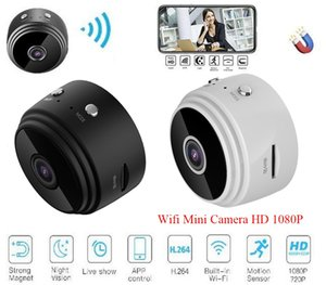 surveillance Night Vision IP Home Security Video Cam A9 1080P Full HD Mini Spy Video Cam WIFI IP Wireless Security Hidden Cameras dhl free