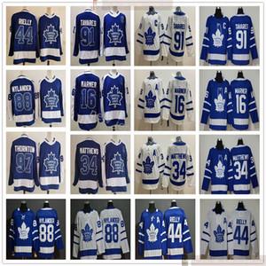 2021 Homem Mulheres Crianças Toronto Maple Leafs Hóquei Jerseys John Tavares Auston Matthews Mitchell Marner Morgan Rielly William Nylander Thornton