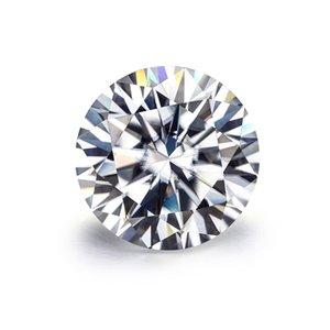 Brilliant Moissnaites 10 Carat 15mm EF Color Moissanites Loose Stone VVS1 Excellent Cut Test Positive Lab Diamonds for Jewelry 0308
