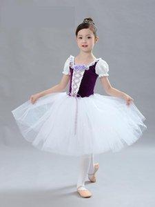 Stage Wear Children's Women's Ballet Dance Skirt Princess Fluffy Performance Dress Costume Activity Annual Meeting
