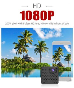 WiFi مصغرة كاميرا HD 1080P كاميرا الأمن كاميرا wifi كاميرا للرؤية الليلية كشف الحركة الفيديو صوت صور مسجل Micro1