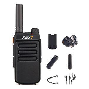 Walkie Talkie 1 Set Mini Long Range Two Way Radio Rechargeable Walkie-Talkies Portable Comunicador For Hunting
