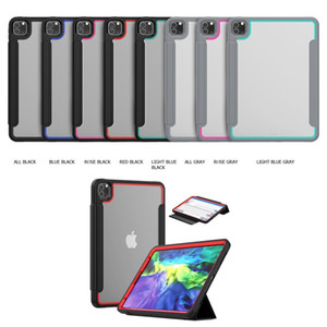 "NEW 3-layer Protection Multi Function Case Pencil Holder AUTO Sleep wake Cover for Ipad mini 4 5 Ipad air 9.7"" ipad 10.2"" Galaxy Tab A"