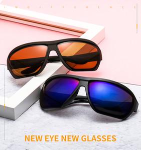 New 2021 new PE8231 sports riding polarized sunglasses fan color temples men's sunglasses goggles Fashion Accessories