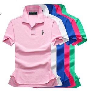 Su Salehomme Vendita2019 on New Men's Polo Shirt da uomo in cotone di alta qualità manica corta estate solido maschio casual business menswear plus size P14