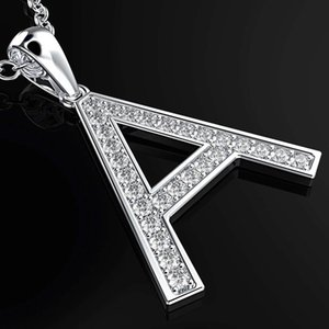 HBP fashion luxury new a letter necklace Korean simple English Series creative pendant jewelry clavicle chain