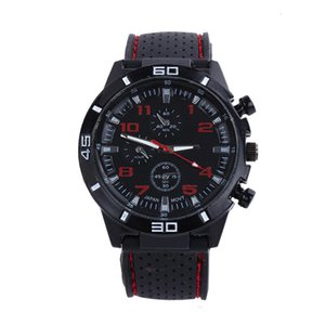 GT men's large plate watch men's sports fashion sile quartz watch personality Watch