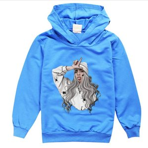 drop shipping new Billie Eilish Children's Long Sleeve Sweaters in Spring and Autumn free shipping