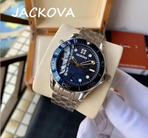 factory mens automatic mechanical watches blue gold watch 316L stainless steel waterproof wristwatch montre de luxe men watches