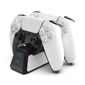 Dual Fast Charger for PS5 Wireless Controller USB 3 Charging Cradle Dock Station for Sony PlayStation5 Joystick Gamepad