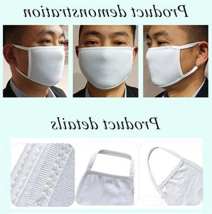 Mask Kids Size Mask Double Layer Blank Dust Sublimation Proof Face Maks Heat Transfer Printing Blank Mask Free Shipping A02