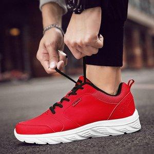 الخريف منتصف العمر رجل الأحذية الرياضية غير زلة أبي الأحذية الشتاء زائد المخملية القطن منتصف العمر الجلود ماء أحذية للماء R3VT #