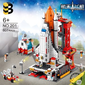 Space military children's puzzle and small particle building block toys