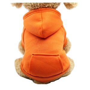 Pet Pouch Jacket Fleece Hoodies Sports Wear for Small Dogs Autumn Winter Jacket Warm Clothing 2 Feet 2 Legs Hi Vis Jacket