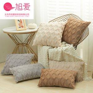 Special Xuai Embroidered Pillow Case Diamond Psh Waist Cushion Winter Sofa