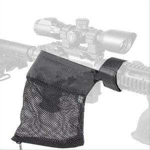 Ar-15 tático munição latão shell apanhador de malha armadilha zíper fechamento ammo holster bolsa de nylon malha bagunça acessórios de arma de caça