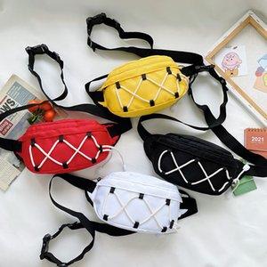 Children's Backpacks nylon lightweight baby chest sports style boys and girls casual messenger bag