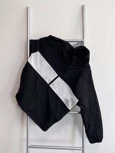 2021 Unisex Erkekler ve Kadın Ceketler Moda Sokak Rahat Ceket Kontrast Renk Dikiş Tasarım Gevşek Çok Yönlü Bahar EUR Boyutu Ceket