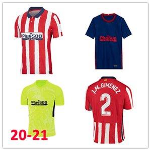 20 21 Atletico soccer jersey 2020 2021 JOÃO FÉLIX M. LLORENTE KOKE SAUL GODIN DIEGO COSTA camiseta football shirt men kit
